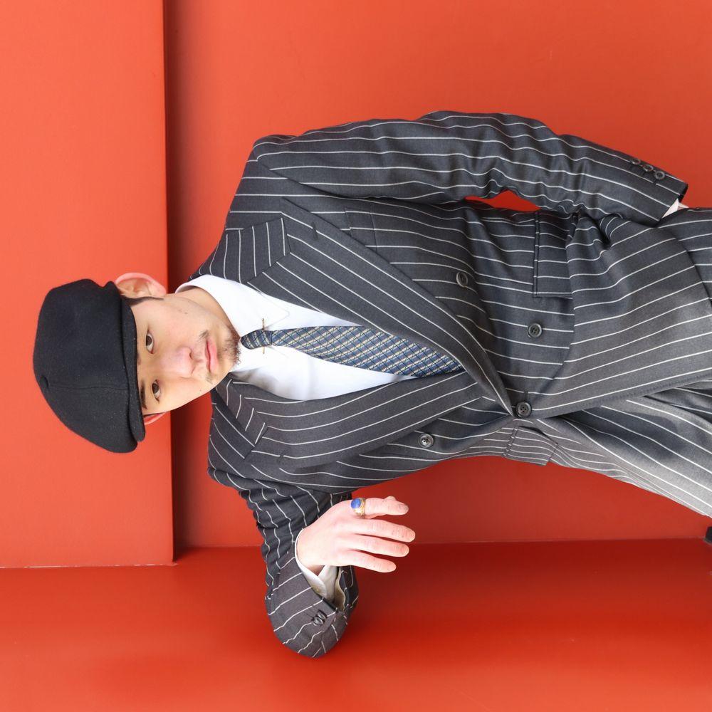 オーダースーツ,30s,チョークストライプ,クラシックスタイル,吉祥寺,東京,仕立て屋